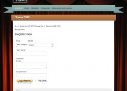 Cinema 2880 registration