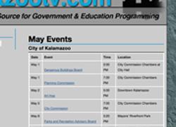 Kzootv.com calendar