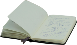 A picture of a notebook